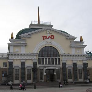 Железнодорожные вокзалы Елани
